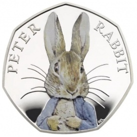 Peter Rabbit To Appear On 50p Coins