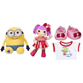 35% Off Minions & Lalaloopsy @ Build-A-Bear