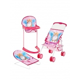 3 Piece Go and Care Dolls Set £17 @ Very