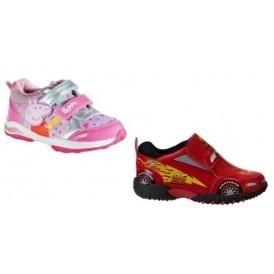 Disney Cars/Peppa Pig Trainers £4.99/£5.99