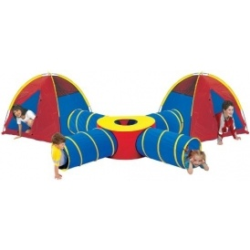 Four Way Pop Up Tunnel/Tent Set £34.99