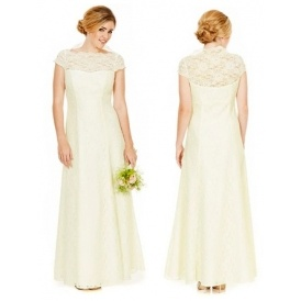 Lace Wedding Dress For £80 @ Tesco F+F