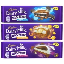 Cadbury Launch BIG New Chocolate Bars