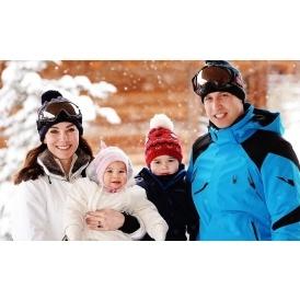 Royal Family Ski Holiday Photo's