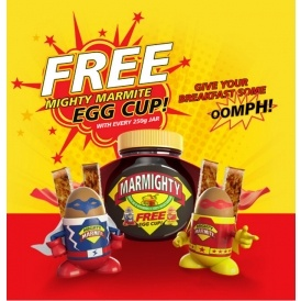 FREE Mighty Marmite Egg Cup