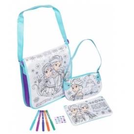 Disney Frozen Colour Your Own Bag Set £7.99