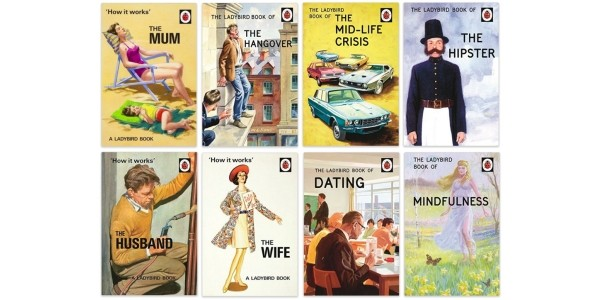 Ladybird Books For Grown-Ups £3.49 @ Amazon