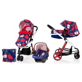 Cosatto Woop Pushchair + FREE Car Seat