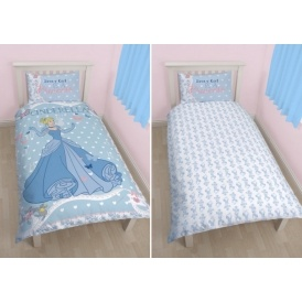 Cinderella Single Duvet Cover Set £9.99