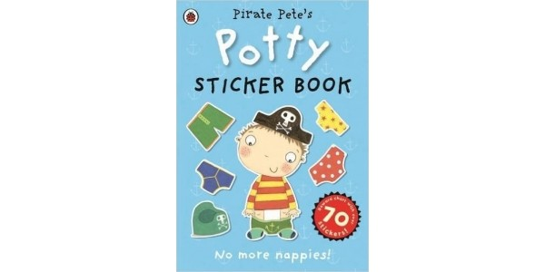 Pirate Pete's/ Princess Polly's Potty Sticker Activity Book £1.99 @ Amazon