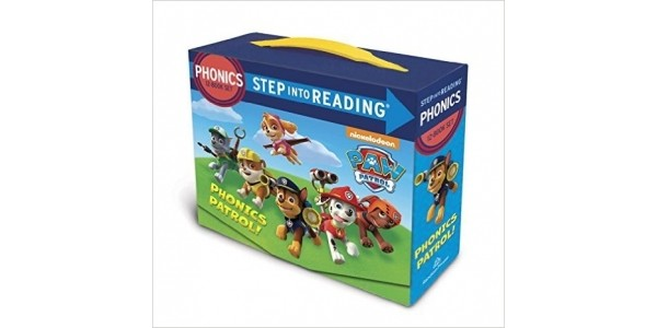 Paw Patrol Phonics Box Set (Step Into Reading) £9.16 @ Amazon