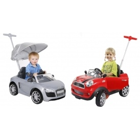 Mini & Audi Push Buggy Ride-Ons From £79.99