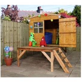 15% Off ALL Wooden Playhouses @ Homebase