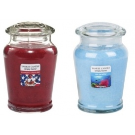 Two Yankee Candle Medium Jars For £15
