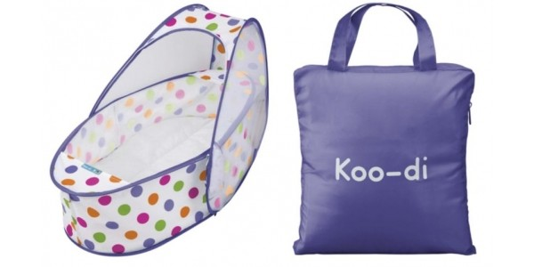 Koo-di Pop Up Travel Cot & Bassinette £19.60 (with code) @ Tesco Direct