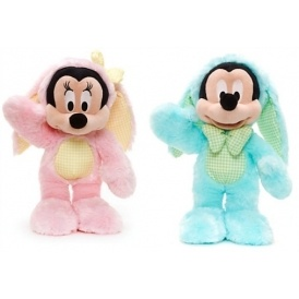 Easter Mickey/Minnie Plush £7.99