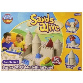 John Adams Sands Alive Castle Set £11.53