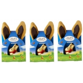 Pack Of Two Lindt Gold Bunny Ears £7.49