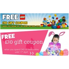 £20 In Gift Coupons WYS £40 On Lego