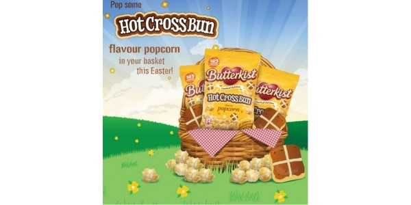 Hot Cross Bun Flavour Popcorn!