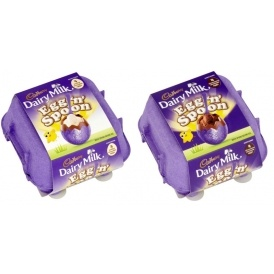 Cadbury Dairy Milk Egg & Spoon 4 Pack £1