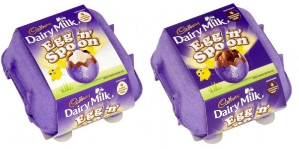 Cadbury Dairy Milk Egg & Spoon 4 Pack £1 @Sainsbury's