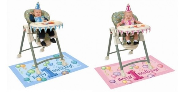 Baby's 1st Birthday Highchair Decoration Kit From £2.51 @ Amazon