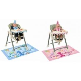 1st Birthday Highchair Decorations £2.51