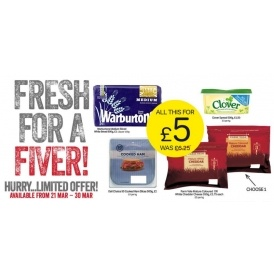 Fresh For A Fiver Offer Now On @ Iceland