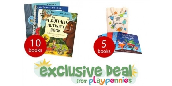 PlayPennies Exclusive: £5 Off £30 Spend @ The Book People