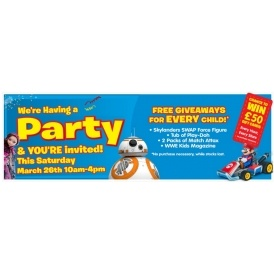 FREE Easter Party @ Smyths Toys