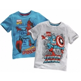 Twin Pack Marvel T-Shirts £6.66