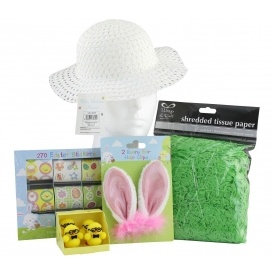 Make Your Own Easter Bonnet Set £7