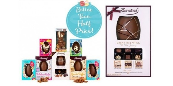 20% Off ALL Eggs Plus £30 Off Family Easter Gift Bundle  @ Thorntons