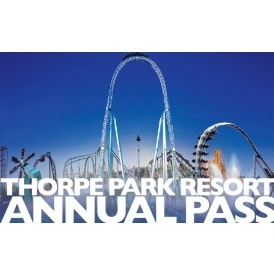 Thorpe Park Standard Annual Pass £49.99