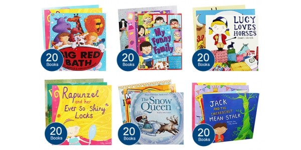 20 Children's Books For £20 With Free Delivery @ The Works