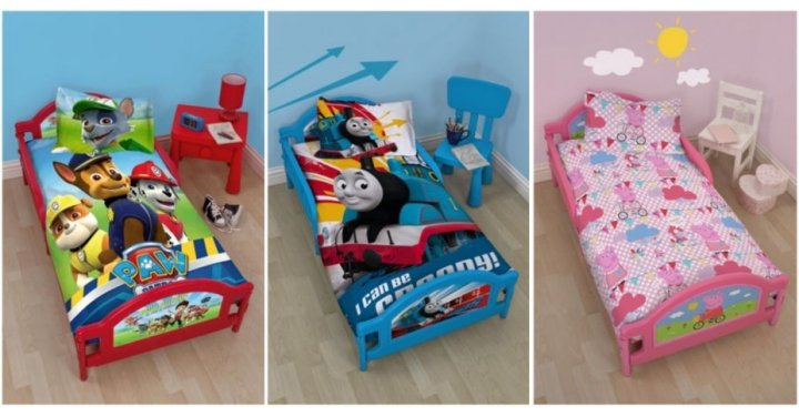 Paw Patrol Peppa Pig Or Thomas Toddler Beds 163 43 20 With