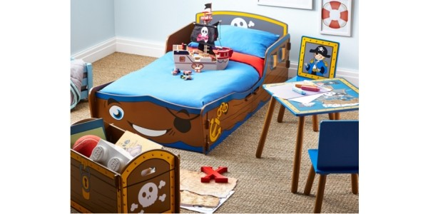 Pirate Ship Kids Bedroom Range Now From £35 @ Asda George
