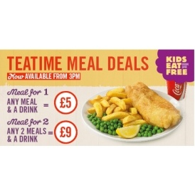 Kids Eat Free @ Morrisons Cafe