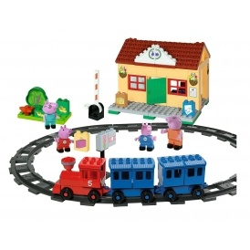 Peppa Pig Train Station Building Set £19.99