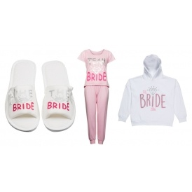 Team Bride Hen Party Clothing @ B&M
