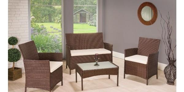 Rattan Garden Furniture Set £89.50 Delivered @ eBay/ijinteriors