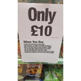 Roast Lamb Meal Deal £10 @ The Co-operative