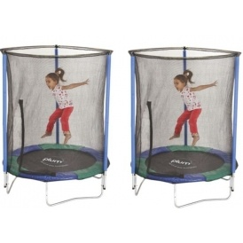 5ft Junior Trampoline With Enclosure £45