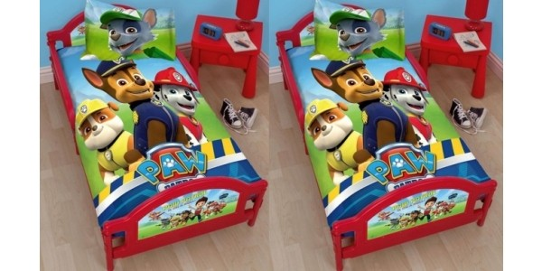 Paw Patrol Rescue Junior Toddler Bed £74.99 Delivered @ Price Right Home
