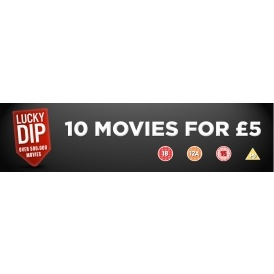 Lucky Dip DVD Bundle 10 DVDs £5 @ 365 Games
