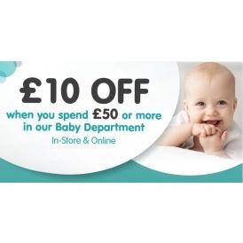 £10 Off WYS £50 On Baby @ Smyths