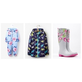 Up To 40% Off Selected Rainwear @ Joules