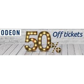 50% Off Cinema Tickets @ Odeon