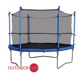 8ft Trampoline & Enclosure £79.99
